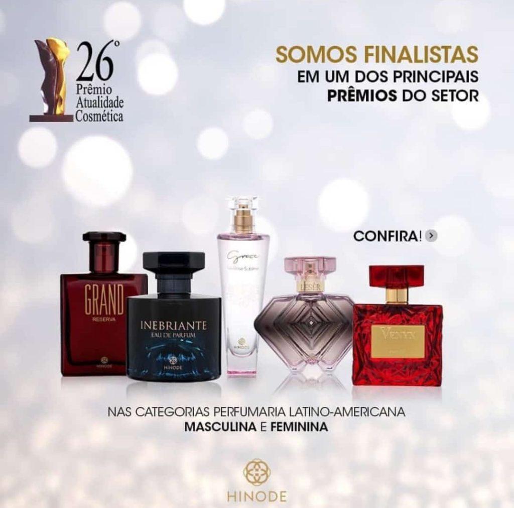 Finalistas Prêmio  Atualidade cosmética 2018